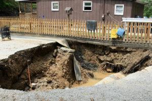 Sinkholes Repair